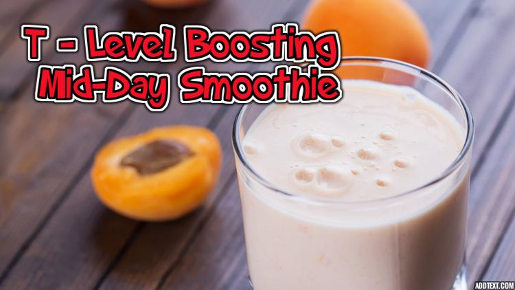 Testosterone boosting super delicious smoothie